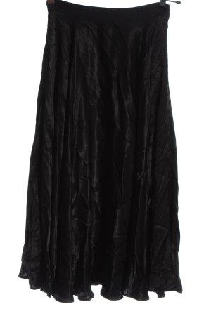 H&M Midirock schwarz Elegant