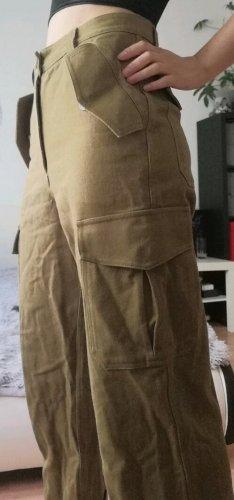 H&M Pantalone kaki sabbia