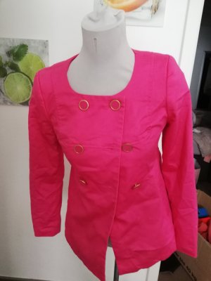 H&M Military Jacket gold-colored-pink