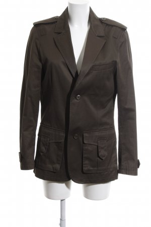 H&M Military Jacket black-brown elegant