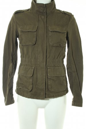 H&M Militaryjacke khaki Casual-Look