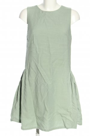 H&M Mini vestido gris claro moteado look casual