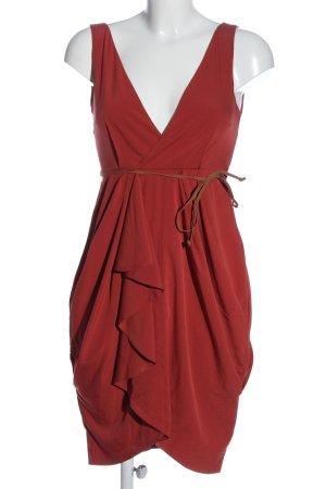 H&M Minikleid rot Elegant