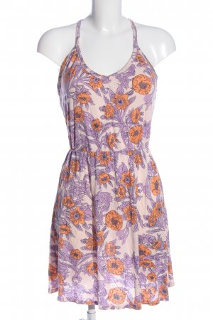 H&M Mini vestido estampado floral look casual