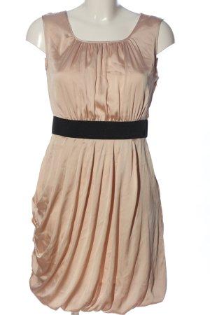 H&M Minikleid nude-schwarz Elegant