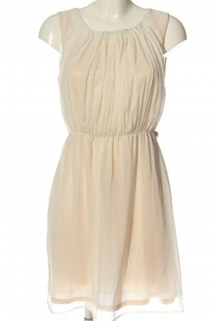 H&M Minikleid creme Elegant