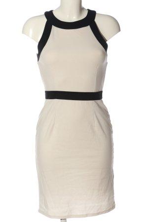 H&M Minikleid schwarz-wollweiß Casual-Look