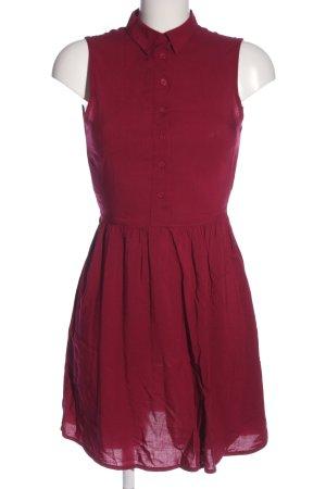 H&M Minikleid rot Casual-Look