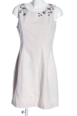 H&M Minikleid weiß Blumenmuster Casual-Look