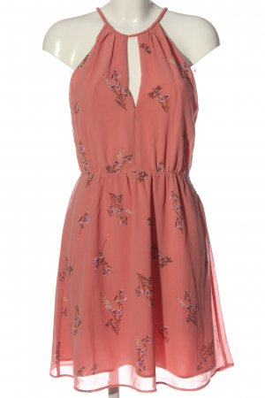 H&M Minikleid rot Allover-Druck Casual-Look