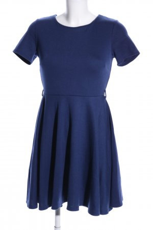 H&M Minikleid blau Elegant