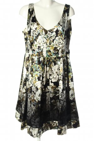 H&M Minikleid Allover-Druck Casual-Look