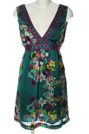H&M Minikleid Blumenmuster Casual-Look