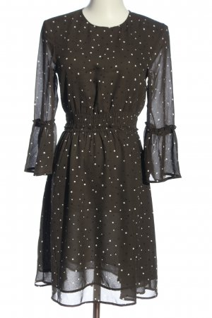 H&M Blusenkleid Punktemuster Casual-Look