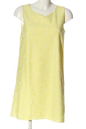 H&M Minikleid blassgelb Casual-Look
