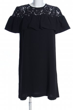 H&M Minikleid schwarz Elegant