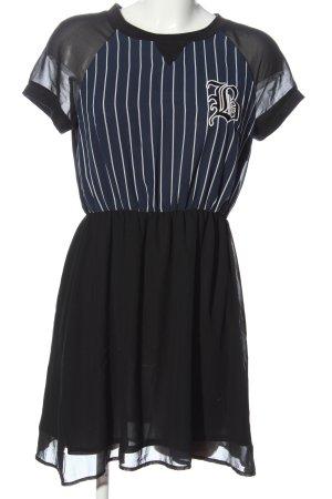 H&M Minikleid Streifenmuster Casual-Look