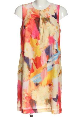 H&M Minikleid abstraktes Muster Casual-Look