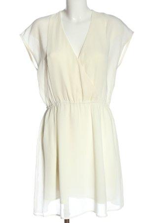 H&M Minikleid wollweiß Elegant