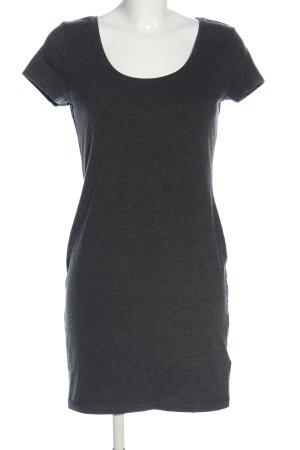 H&M Minikleid hellgrau Casual-Look