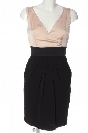 H&M Minikleid wollweiß-schwarz Casual-Look
