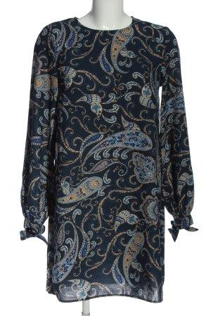H&M Minikleid abstraktes Muster Elegant