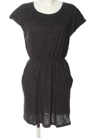 H&M Minikleid hellgrau meliert Casual-Look