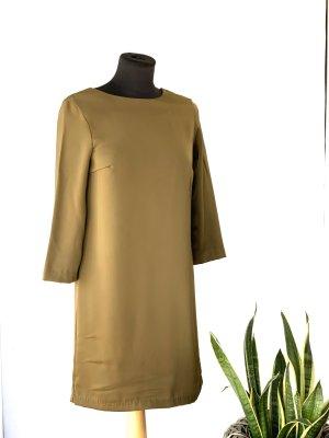 H&M Minikleid olivgrün Party Look