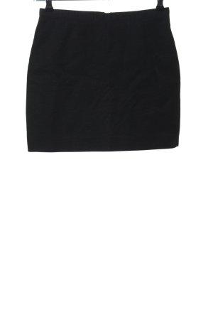 H&M Minirock schwarz Business-Look