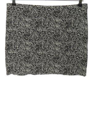 H&M Minirock schwarz-weiß Casual-Look