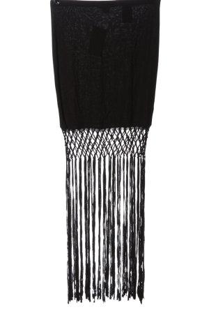 H&M Minirock schwarz extravaganter Stil