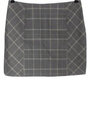 H&M Mini-jupe motif à carreaux style décontracté