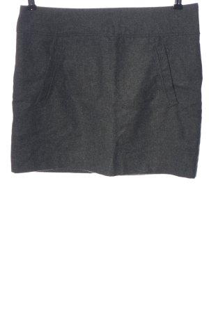 H&M Minirock hellgrau Casual-Look