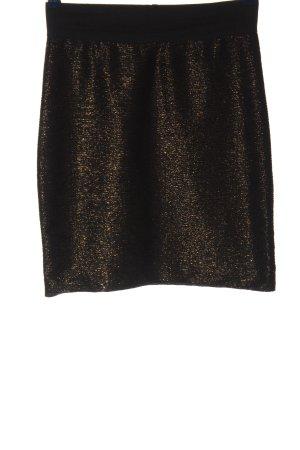 H&M Minirock schwarz-braun Casual-Look