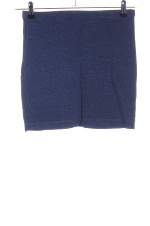 H&M Minigonna blu puntinato stile casual