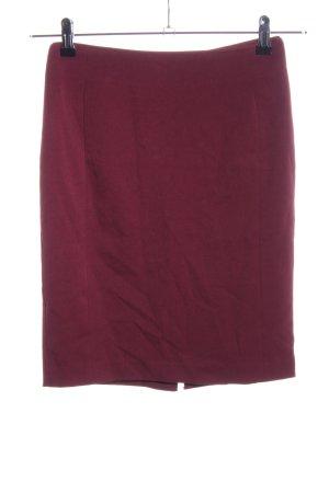 H&M Minifalda rojo estilo «business»
