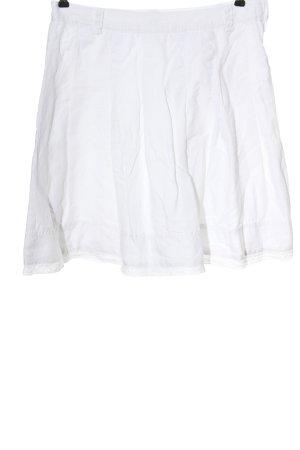 H&M Minirock weiß Elegant