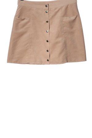 H&M Minirock creme Casual-Look