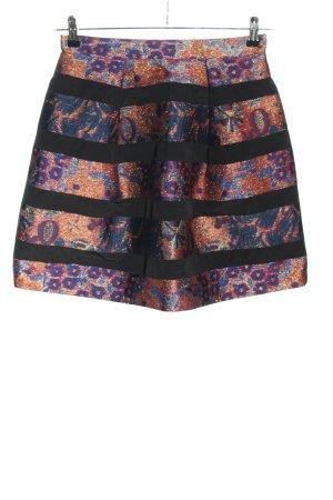 H&M Minirock Farbverlauf Elegant