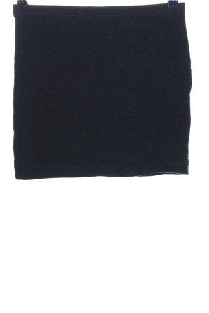 H&M Minirock blau meliert Casual-Look