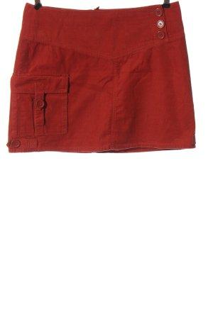 H&M Minirock rot Casual-Look