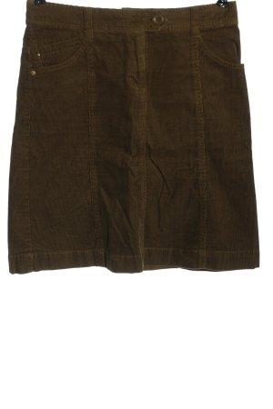 H&M Minirock braun Casual-Look