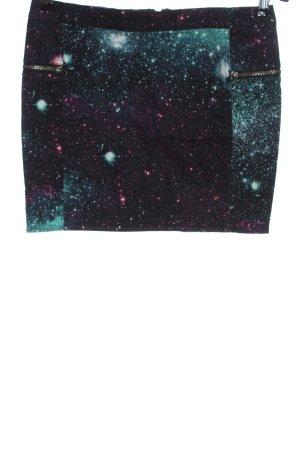H&M Minirock abstraktes Muster Casual-Look