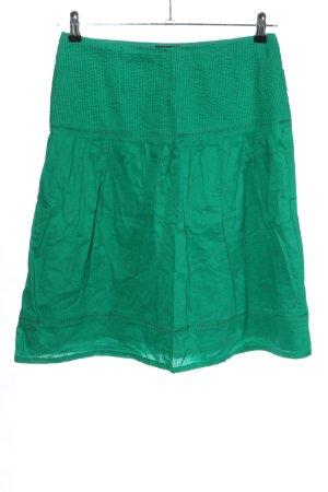 H&M Minirock grün Casual-Look