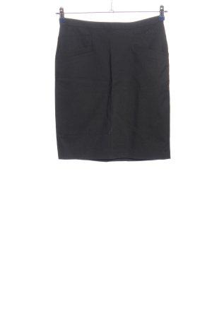 H&M Minirock schwarz meliert Casual-Look