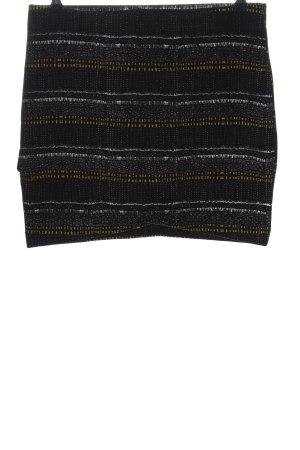H&M Minirock Streifenmuster Casual-Look