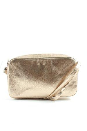 H&M Minitasche goldfarben meliert Casual-Look