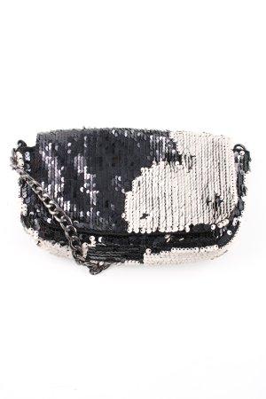 H&M Mini sac noir-blanc élégant