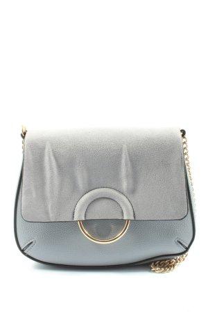 H&M Minitasche blau-hellgrau Casual-Look