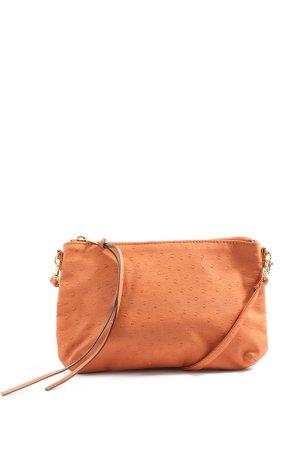 H&M Minitasje licht Oranje gestippeld patroon casual uitstraling